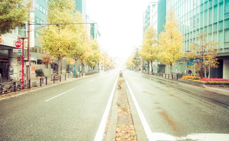 福冈天神地区