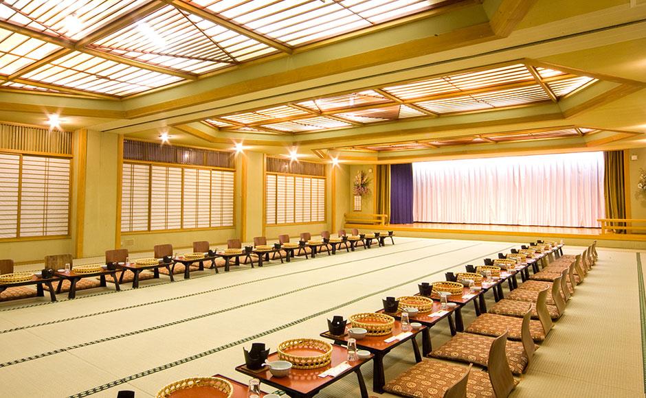 Large Banquet Hall: Komagatake