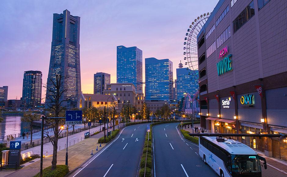 橫濱港灣未來21街區