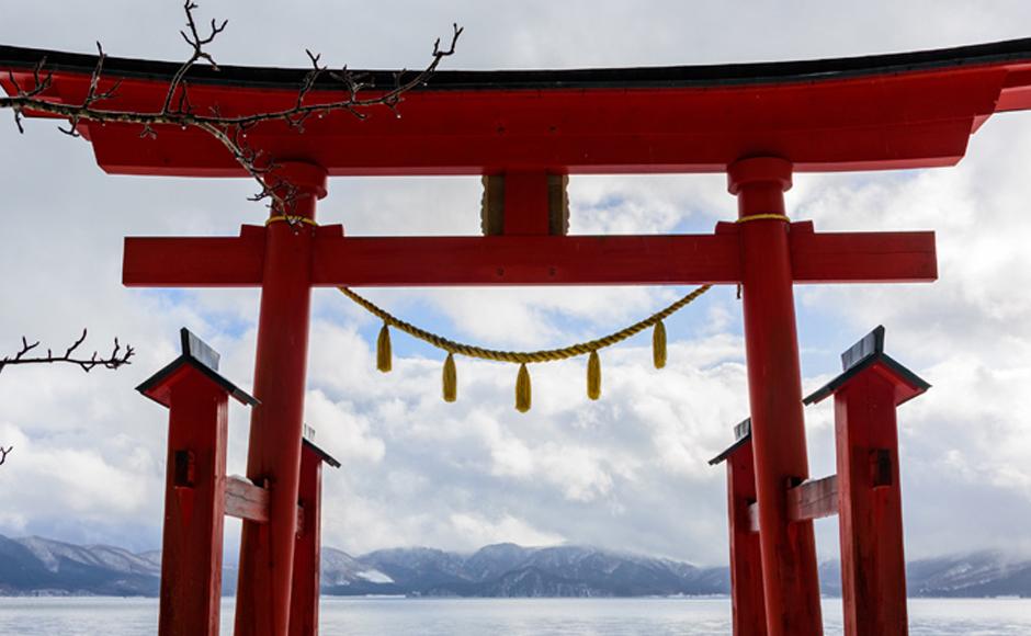 Gozanoishi-jinja Shrine