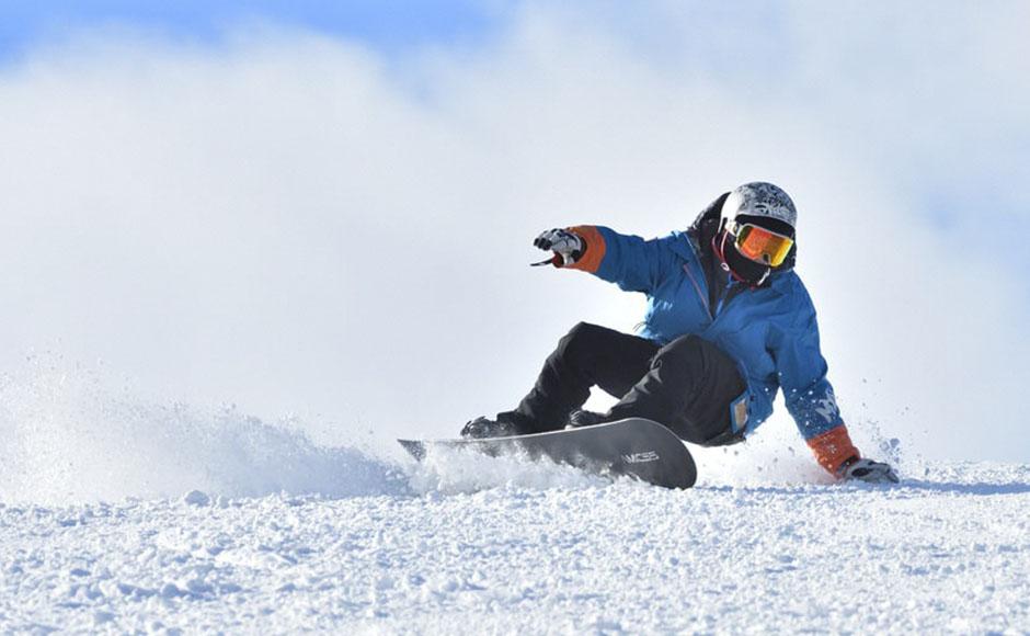 马门温泉滑雪场