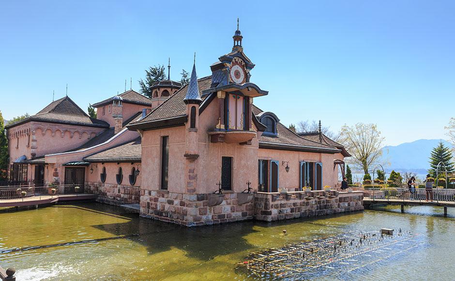 河口湖八音盒森林美术馆
