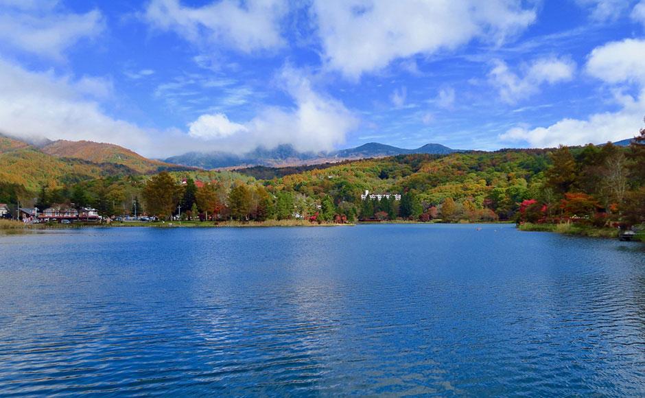 다테시나코 호수