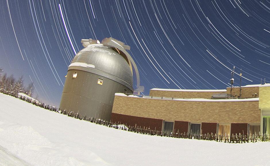 나요루 시립천문대 북쪽 묘성