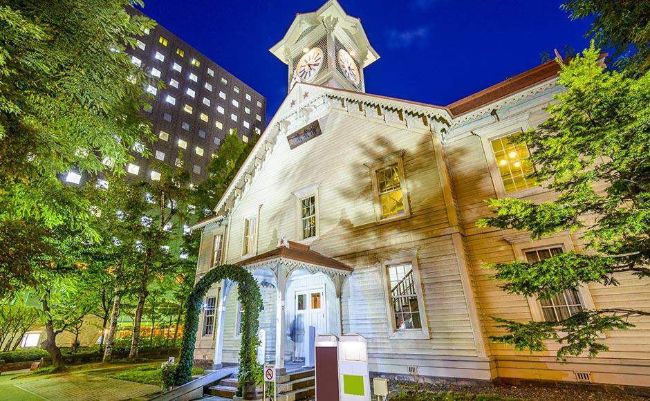 札幌市钟楼