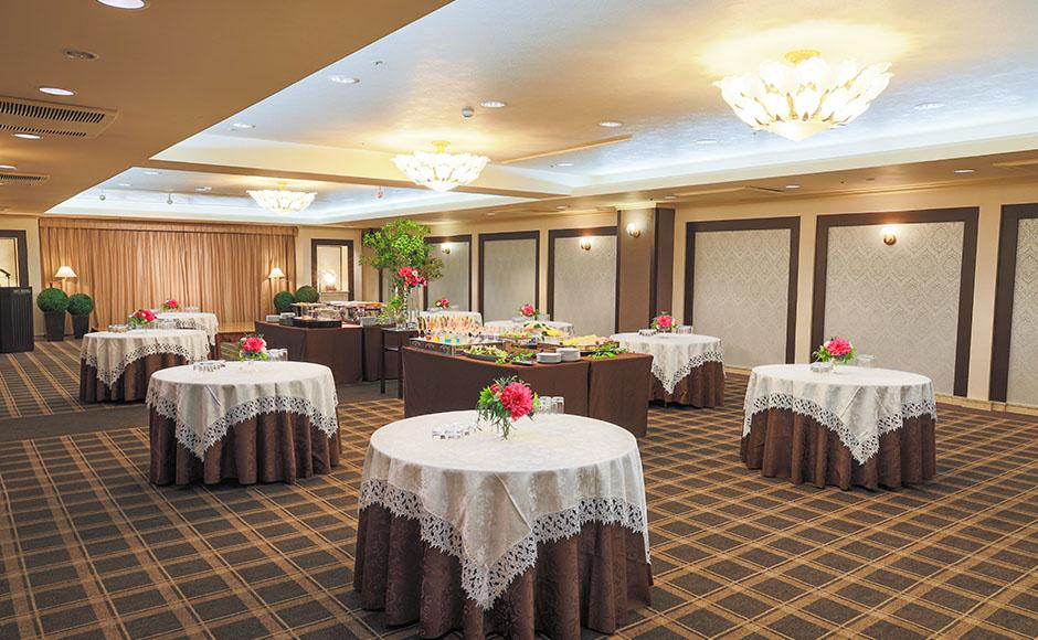 中宴會廳「末廣之間」