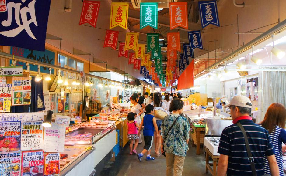 清水魚市場 河岸市場