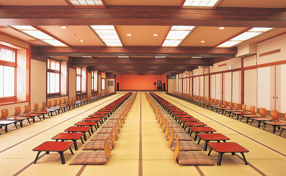 "Large Banquet Hall ""Choja"" (Divisible into four rooms)"