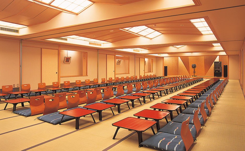 "Large Banquet Hall ""Kissho"" (Divisible into four rooms)"