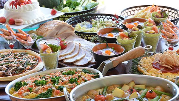 春のお祝いフェアの料理画像